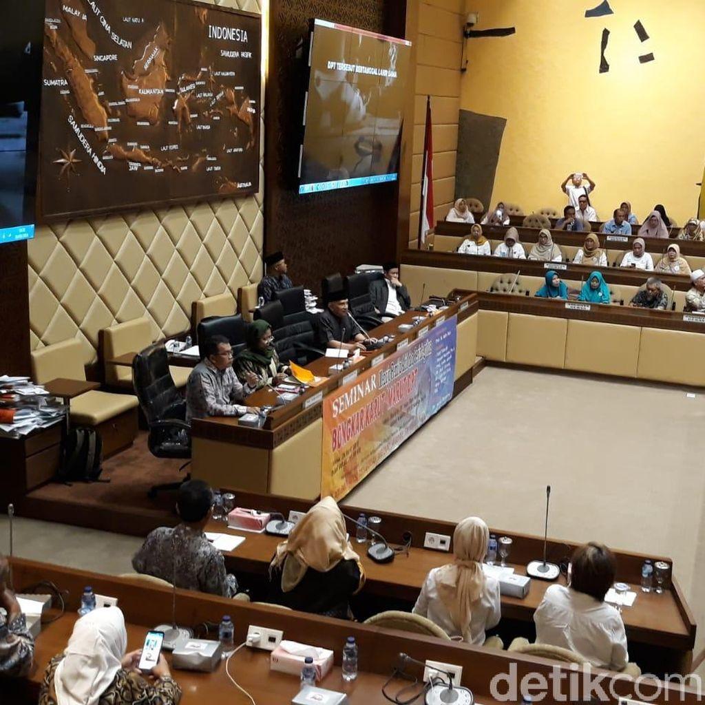Amien Rais hingga Neno Warisman ke DPR, Bahas DPT Pemilu 2019
