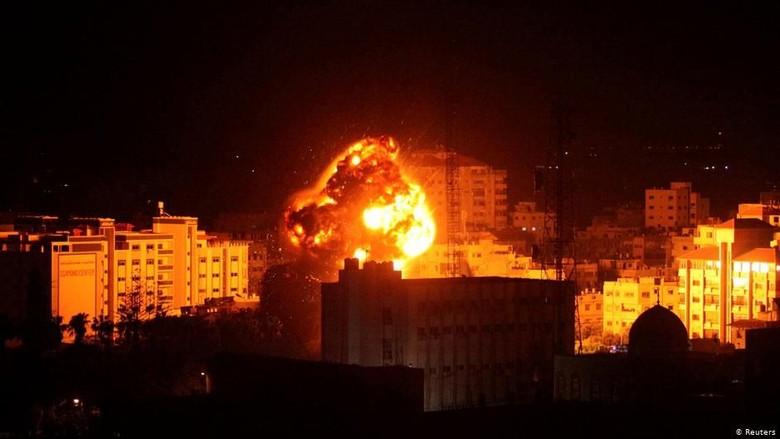 Trump Akui Kedaulatan Israel Atas Golan, Israel-Hamas Perang Roket