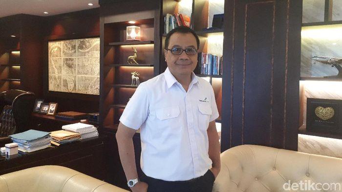 Direktur Utama PT Angkasa Pura I (Persero) Faik Fahmi/Foto: Ardan Adhi Chandra/detikFinance