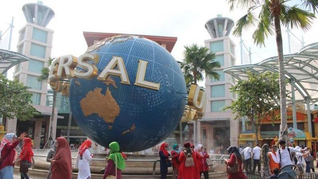 Seharian di Universal Studios Singapore, Seru!