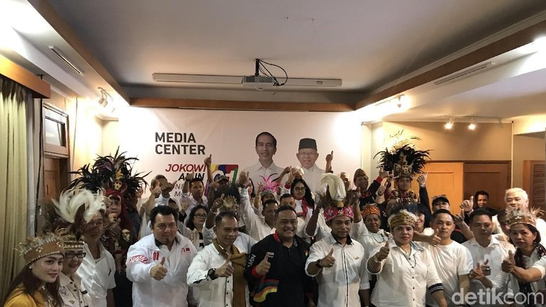 Timur Indonesia Bersatu Deklarasi Dukung Jokowi-Maruf