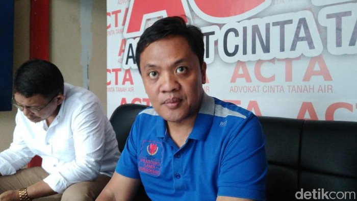 Ketua DPP Gerindra Habiburokhman (Adhi/detikcom)