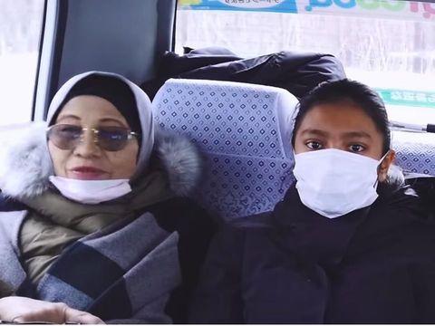 Kedekatan Ariel 'NOAH' dan Sang Putri, Ajak Liburan ke Jepang