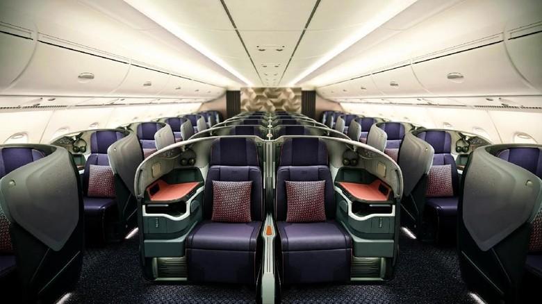 Foto: Kelas bisnis Singapore Airlines (dok Singapore Airlines)