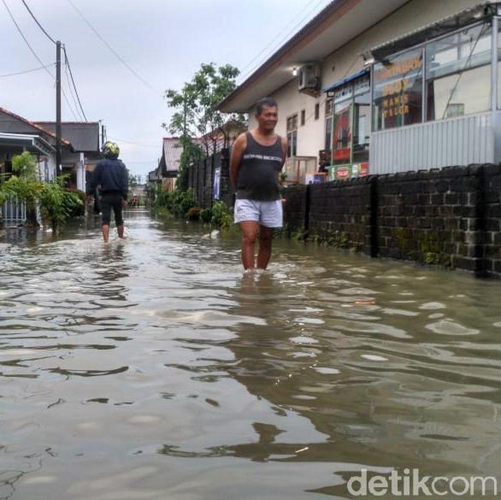 Diguyur Hujan, Pangkalpinang Babel Terendam Banjir