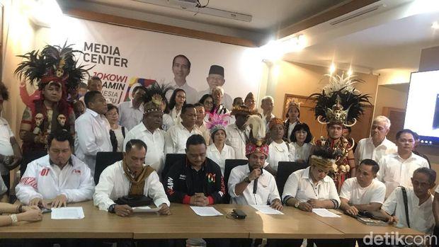Timur Indonesia Bersatu Deklarasi Dukung Jokowi-Ma-ruf