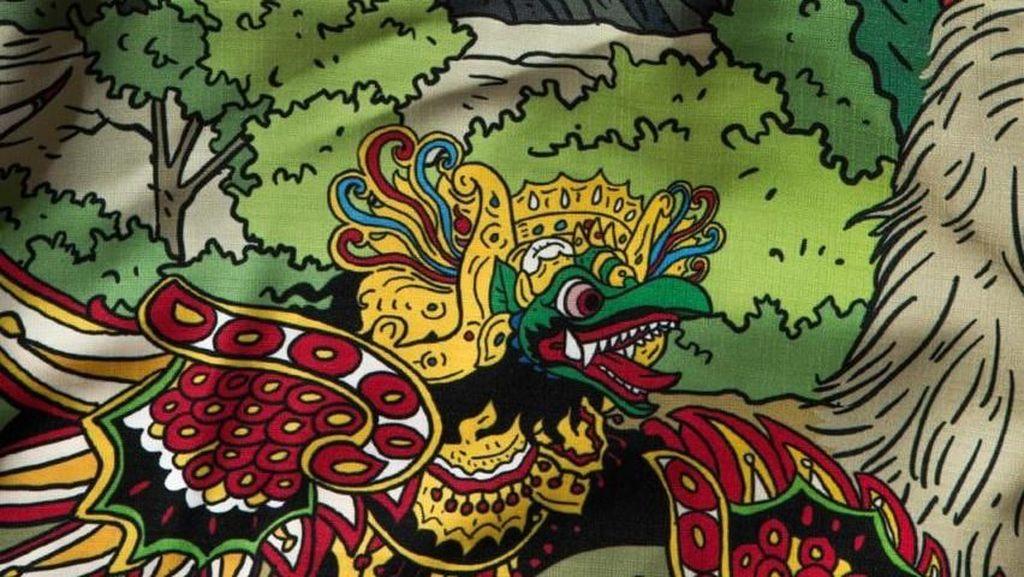 Selain Jokowi-Prabowo, Keberagaman Indonesia Ada di Artwork Kemeja Hari Prast