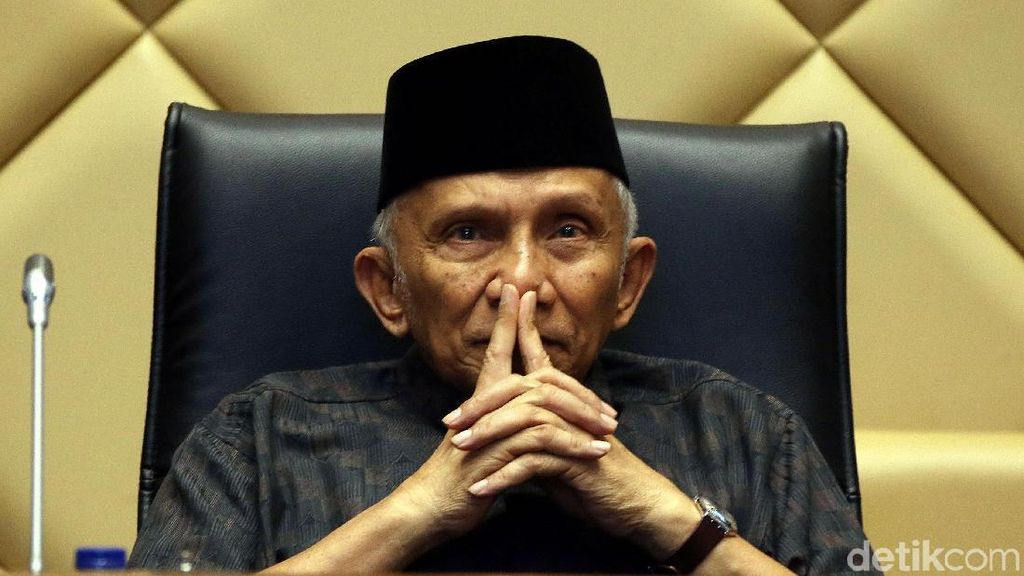 PAN Bela Amien Rais yang Ditantang Mubahalah oleh Pendukung Jokowi