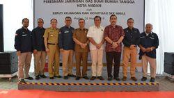 Perkuat Layanan Gas, Kementerian ESDM Bangun Jargas Baru di Medan