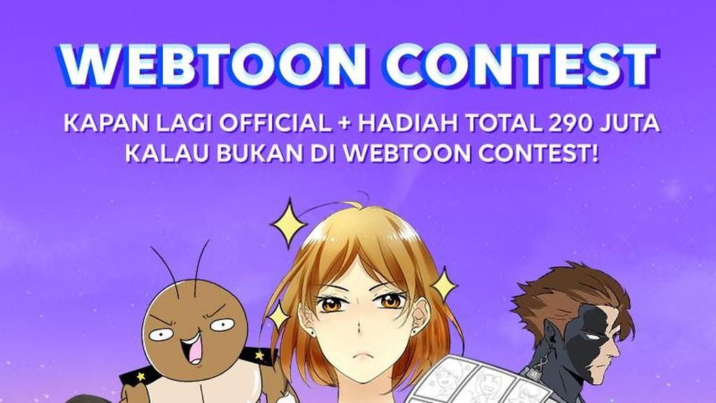 Ingin Jadi Komikus? LINE Webtoon Kembali Gelar Kontes
