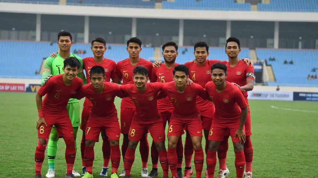 Timnas Indonesia U-23 Ditekuk China 0-2