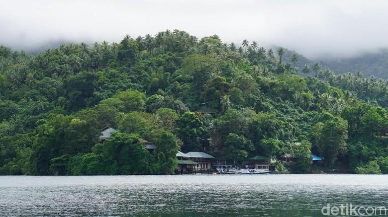 Pulau Lembeh (Wahyu/detikcom)