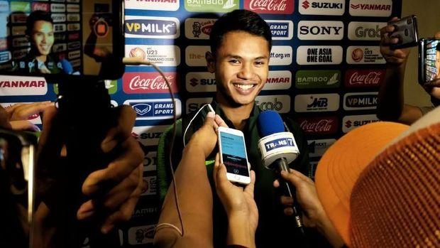 Dimas Drajad: Saya Ingin Tetap Jadi Striker