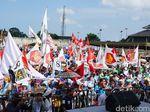 Bendera Garbi Ikut Ramaikan Kampanye Prabowo di Bali