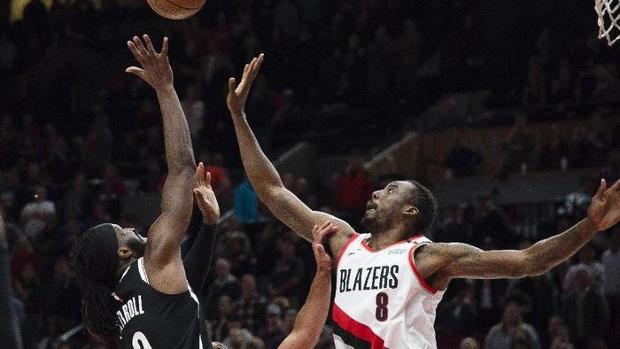 Portland Trail Blazers kalahkan Brooklyn Nets (Troy Wayrynen-USA TODAY Sports)