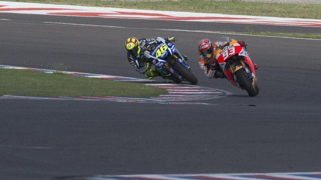 Rossi vs Marquez Panas Lagi di MotoGP Argentina?