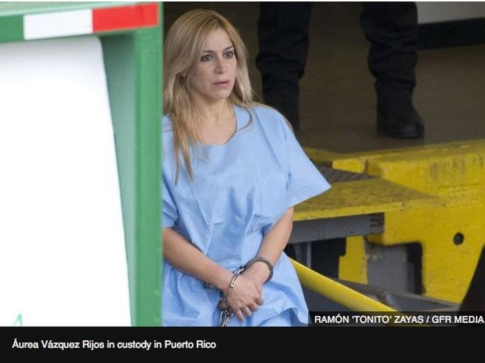 Mantan ratu kecantikan Aurea Vasquez Rijos dipenjara seumur hidup karena membunuh suaminya.Foto: dok. BBC