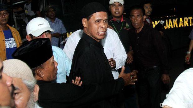 Hercules menghadapi sidang putusan hari ini, Rabu (27/3/2019), di PN Jakarta Barat.