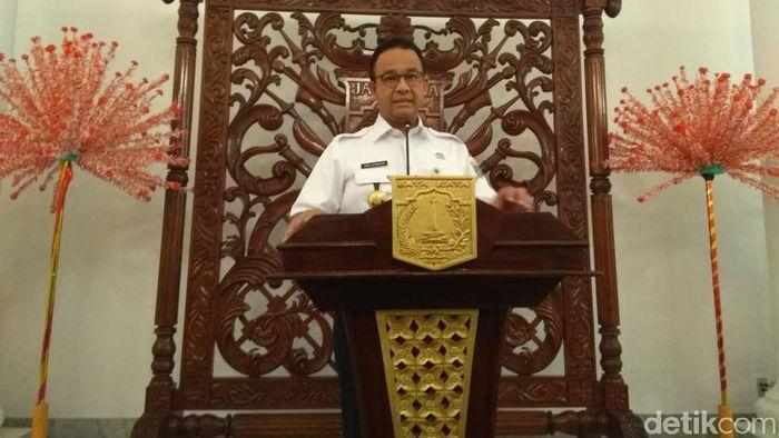 Gubernur DKI Jakarta Anies Baswedan/Foto: Fida/detikcom