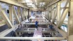 Ini Lho Bor Raksasa dari China di Proyek Kereta Cepat