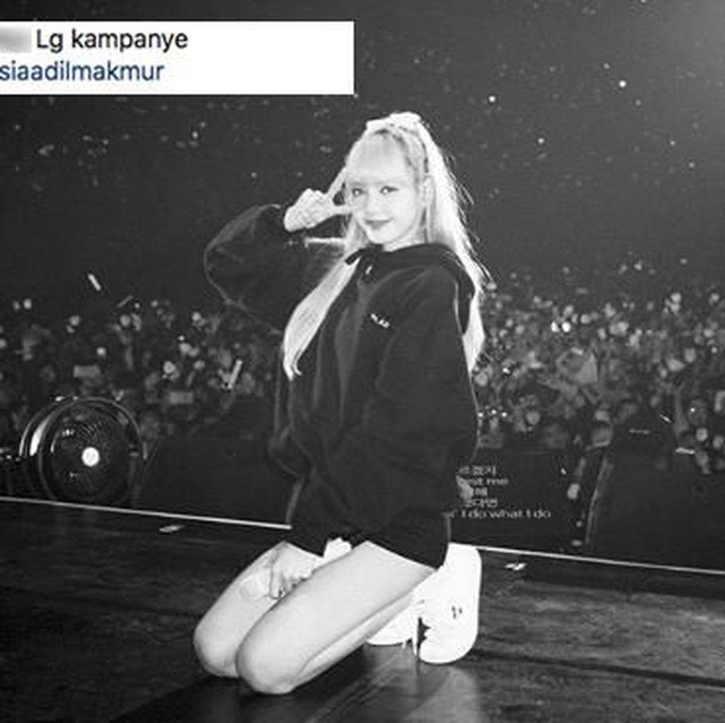 Saat Netizen Kampanye di Instagram Lisa BLACKPINK
