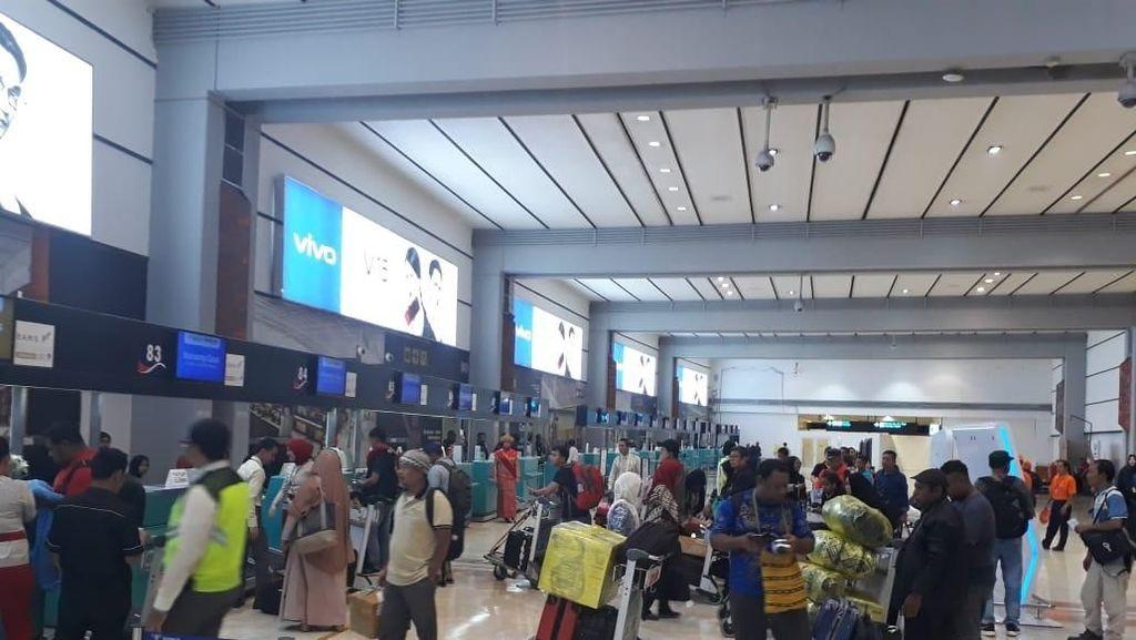 Sriwijaya Air Masih Ngutang Rp 38 M, Listrik Layanan Check-in Diputus