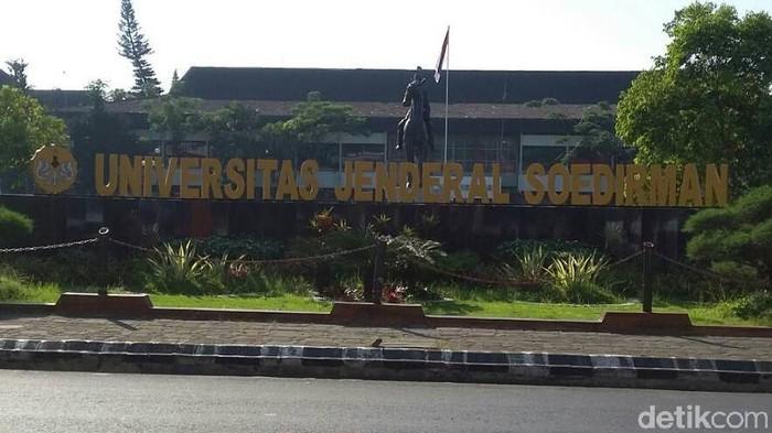 Universitas Jenderal Soedirman (Unsoed) Purwokerto, Rabu (27/3/2019).