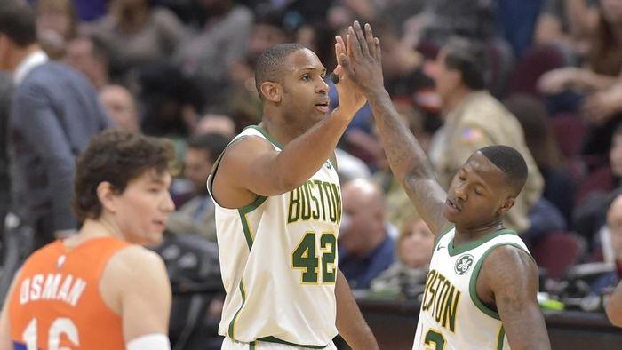 Boston Celtics lolos ke playoff NBA 2018/2019 (David Richard-USA TODAY Sports)