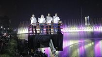Semarang Bridge Fountain Dihidupkan Kamis Ini untuk Sambut APEKSI