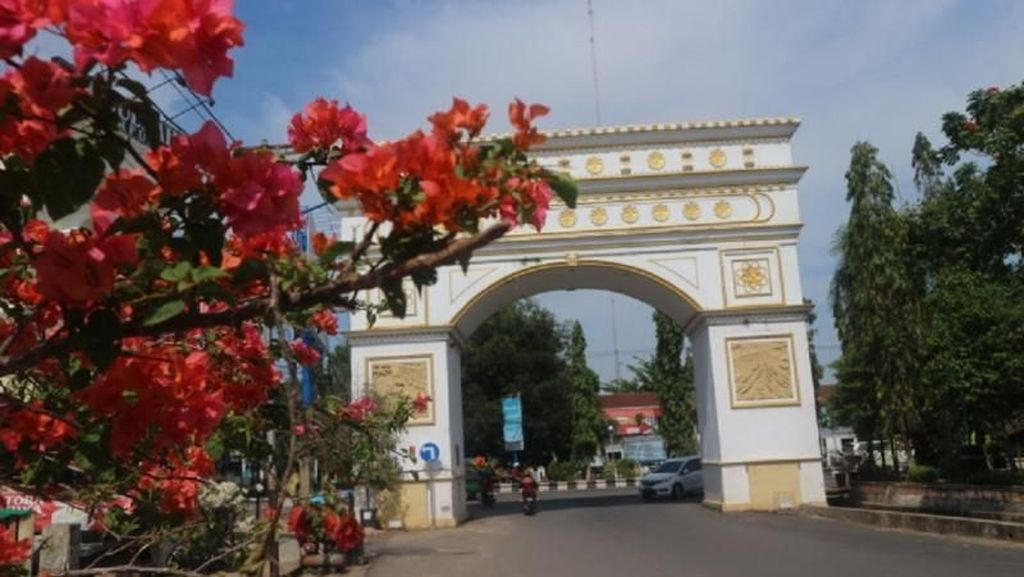 Inilah Arc de Triomphe dari Martapura