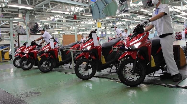 Honda Vario jadi motor Honda buatan Indonesia paling laris di luar negeri Foto: Dok. AHM.