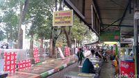 Suasana Sentra Kuliner Sriwijaya yang asri (M Aminudin/detikcom)