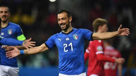 Kualifikasi Piala Eropa: Italia Lumat Liechtenstein 6-0