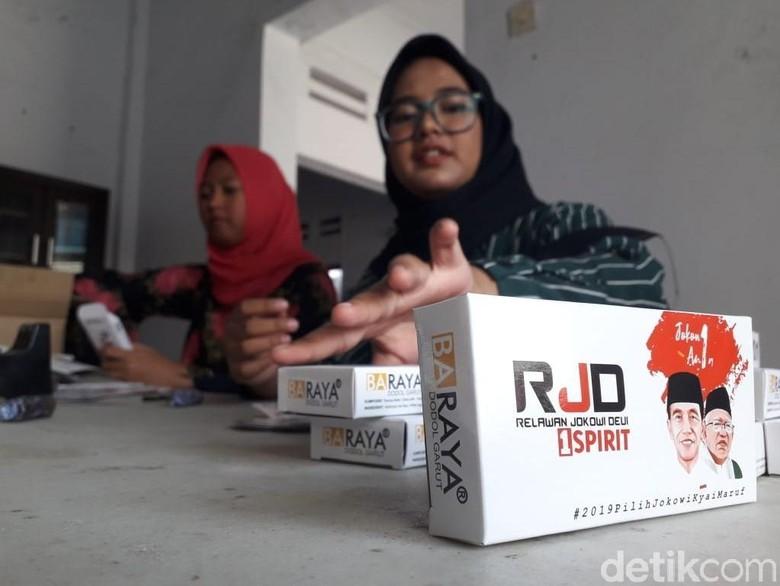 Relawan Jokowi Pesan 25 Ribu Bungkus Dodol Garut untuk Kampanye