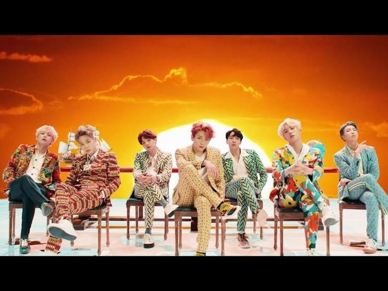 Kurang dari 24 Jam Dirilis, Pre-order Album Baru BTS Capai 3 Juta Copyuntuk