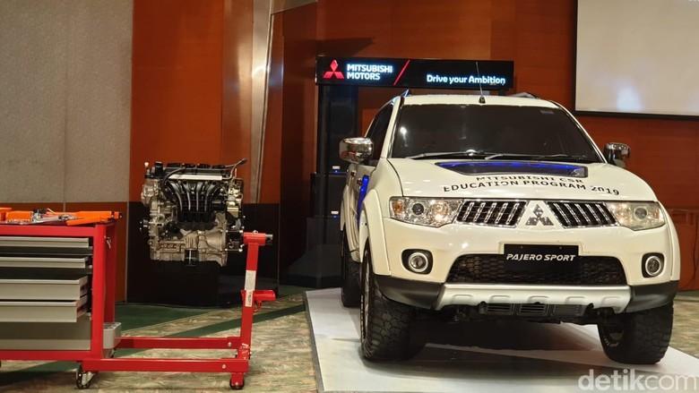 Mitsubishi Pajero Sport untuk Dioprek Siswa SMK. Foto: Luthfi Anshori
