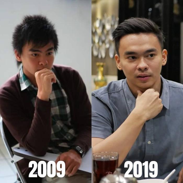 Kamu bisa lihat kan perubahan besar yang terjadi pada Ivan? (Foto: Instagram/ivankabul, ditampilkan atas izin yang bersangkutan.)