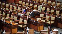 Kursi-kursi Kosong di Sidang Paripurna DPR