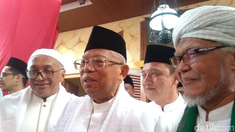 Maruf Ramah-tamah dengan Kiai PWNU Yogyakarta, Mantapkan Dukungan