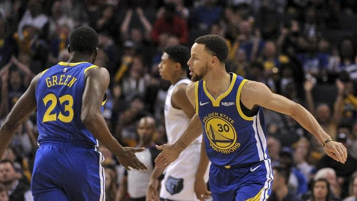 Golden State Warriors tanpa lawan di NBA musim ini (Justin Ford-USA TODAY Sports)