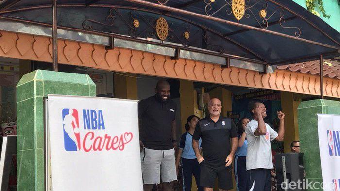 Jr NBA diadakan di SMPN 37 Jakarta Selatan (Redzi Arya Pratama/detikSport)