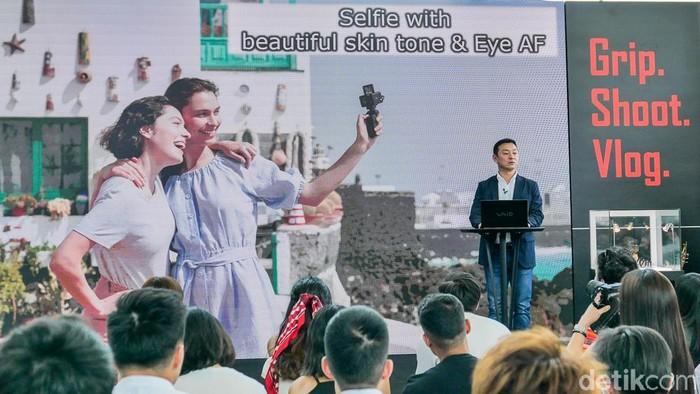 Peluncuran Sony RX0 II. (Foto: Dok. Enche Tjin)