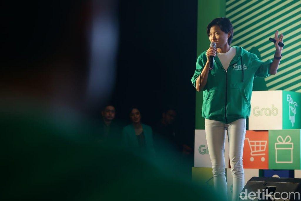 Tan Hooi Ling mengatakan bahwa berdirinya Grab dimulai juga dari kompetisi startup.