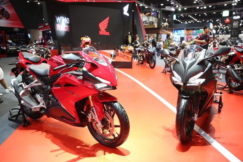 Honda CBR250RR di Thailand. Foto: Honda