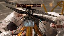 Helikopter NASA Siap Terbang di Planet Merah