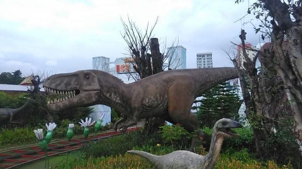 Ada Dinosaurus di Kota Batu