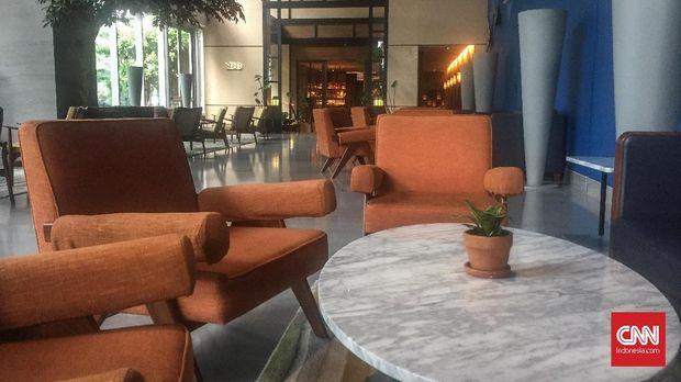 Lobi Hotel Alila SCBD