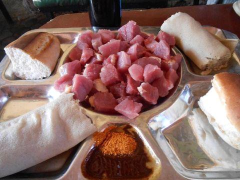 daging mentah