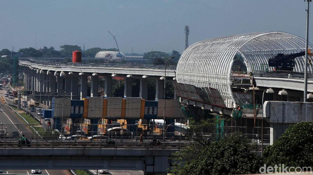 Lahan Depo Bermasalah, Kereta LRT Jabodebek Tiba di Jakarta Sabtu
