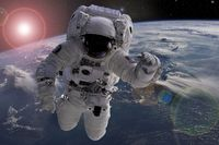 Ilustrasi astronot (iStock)